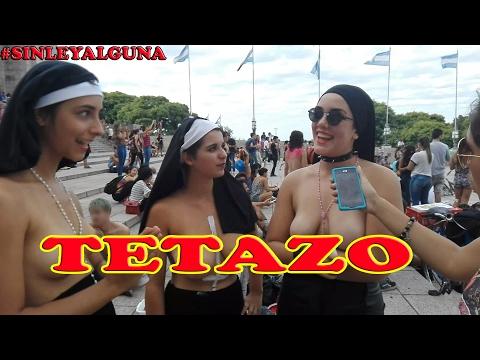 PROTESTA EN T3TAS (TETAZO) SIN CENSURA!