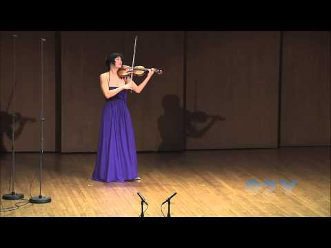 Jennifer Koh plays Chaconne from Bach, Partita No. 2 in D minor