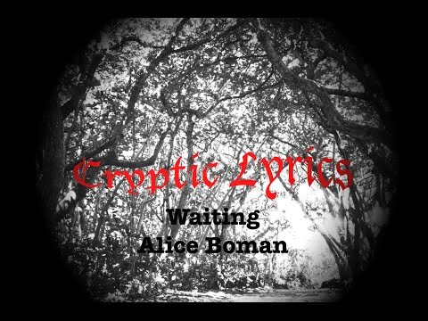 Alice Boman - Waiting (HQ Lyrics)