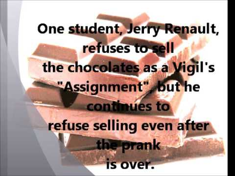 "a book report on the chocolate war by robert cormier At the same time, the book was cited as the ""best young adult book robert cormier's the chocolate war cormier would have agreed with harris's."