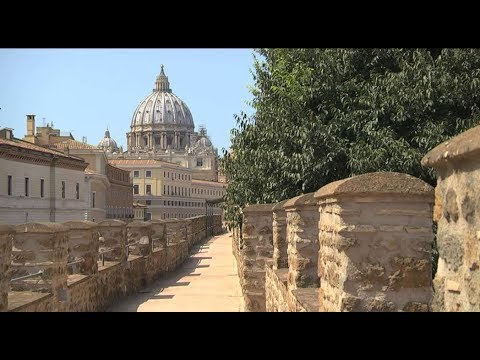 Secret passage that the popes used to escape the Vatican