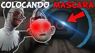 COLOCANDO A MASCARA NO TÚNEL DA FREIRA!! - Evil Nun- 1.1.7 - (JOGO TERROR ESTILO GRANNY)