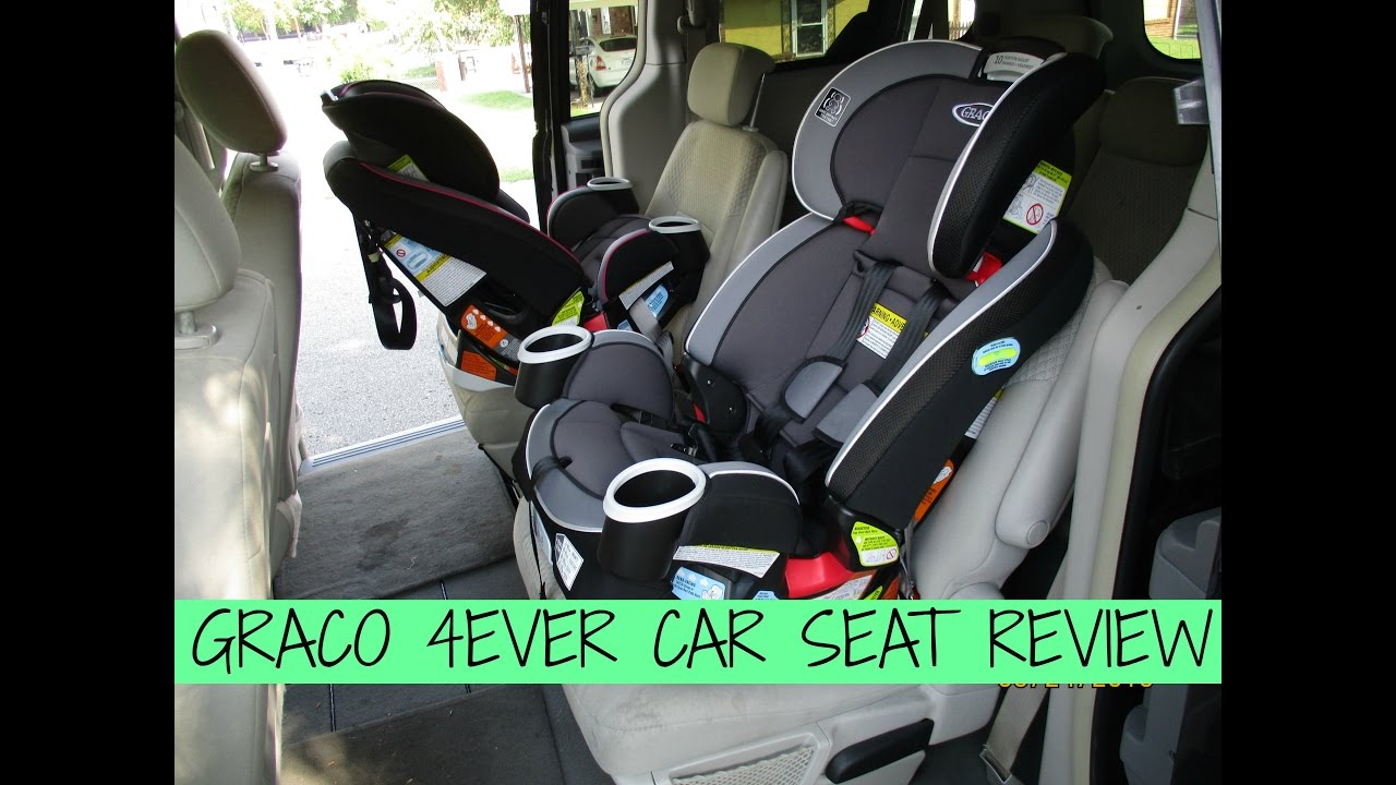 Make Your Own Car >> GRACO 4EVER CAR SEAT REVIEW! 🚗💺 - YouTube
