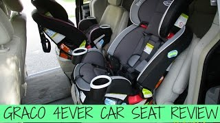 GRACO 4EVER CAR SEAT REVIEW! 🚗💺