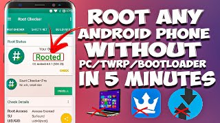 ROOT ANY ANDROID DEVICE WITH 1 CLICK IN 5 MINUTES | NEW ROOTING APP | NO PC NO TWRP NO BOOTLOADER
