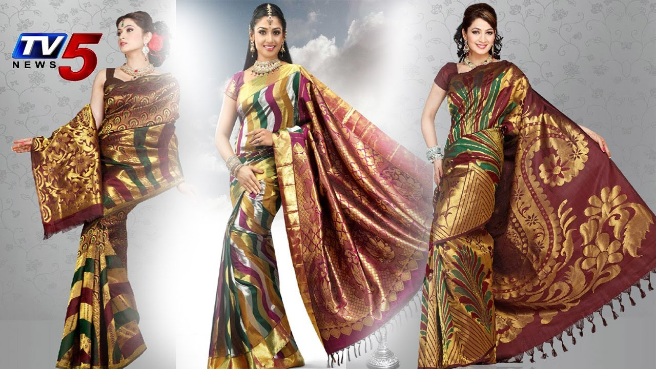 New models latest designer pattu sarees collection for Latest design news