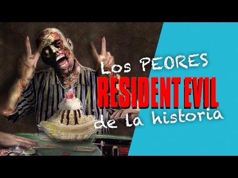 LOS PEORES RESIDENT EVIL DE LA HISTORIA | JotaDelgado