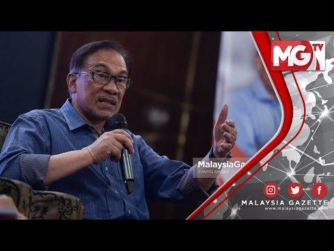 """TERKINI : """"Saya Sokong Tun Mahathir 100%!"""" – Anwar Ibrahim"""