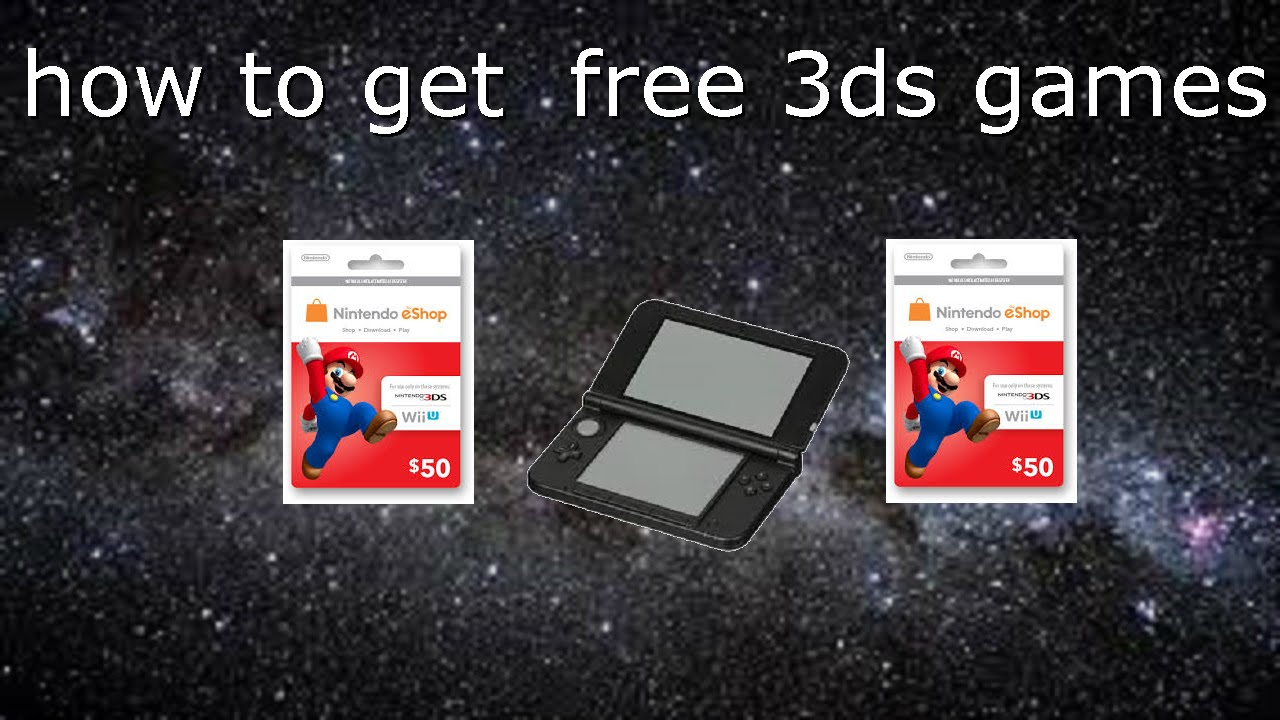 How to Get 3DS Games for FREE! - YouTube