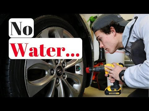 How To Clean Tires Without Water | Simplest Strategy Ever!