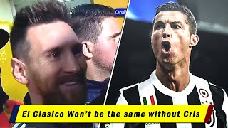 FAMOUS Players Reacting to Cristiano Ronaldo Transfer to Juventus - Tweets & Interviews