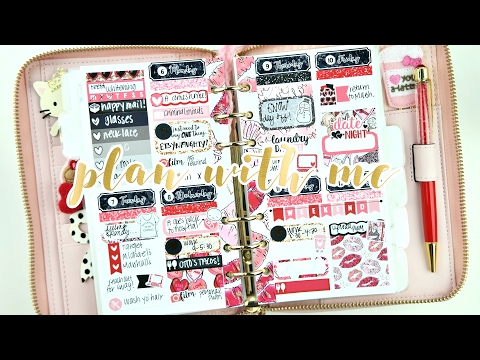 Personal Plan with Me! ft. Caress Press