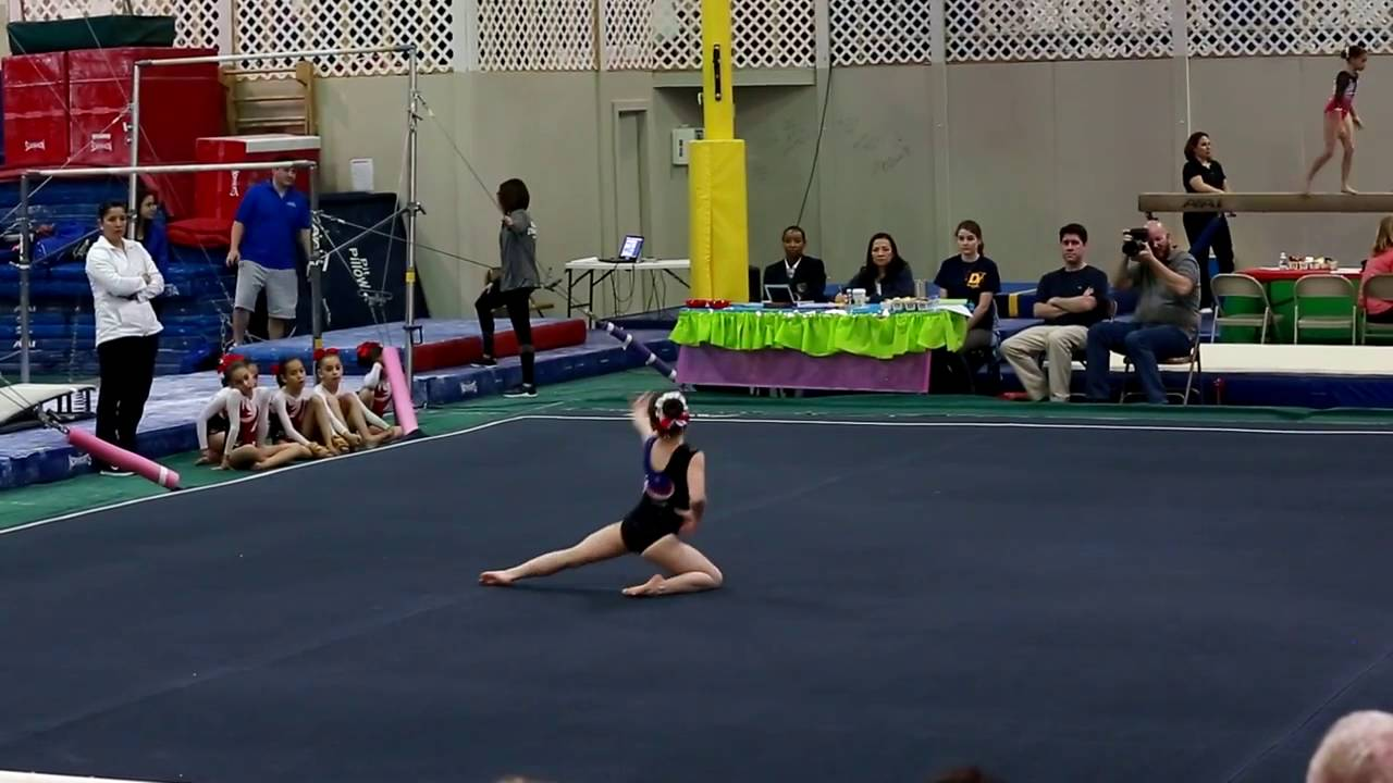 level 6 gymnastics meet january 2016 dvd