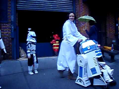 r2d2 stroller halloween costume youtube