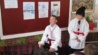 фрагмент уроку української літератури  в 5 класі