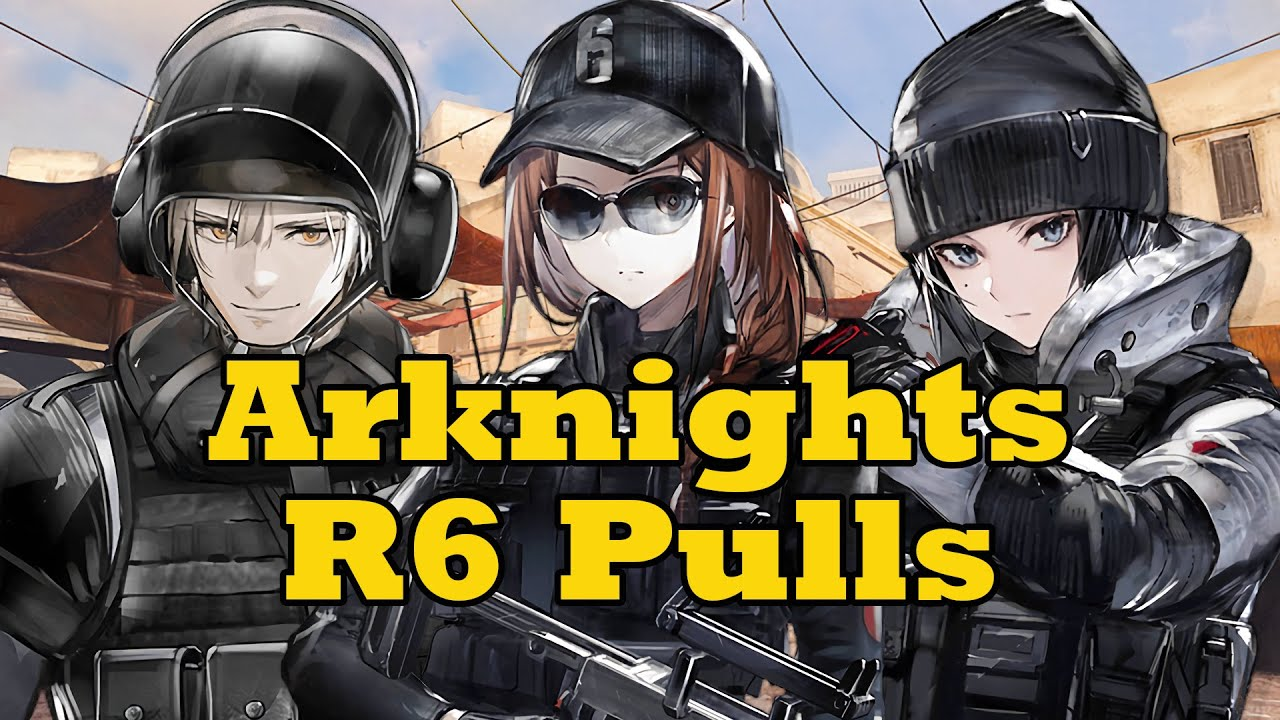 MONEY THE SAVING: Pulling for Ash in Arknights Rainbow Six Crossover