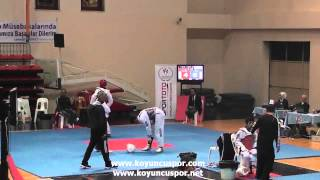 5034   63kg E  Adana vs İzmir (2014 Turkish Junior TKD Championships)