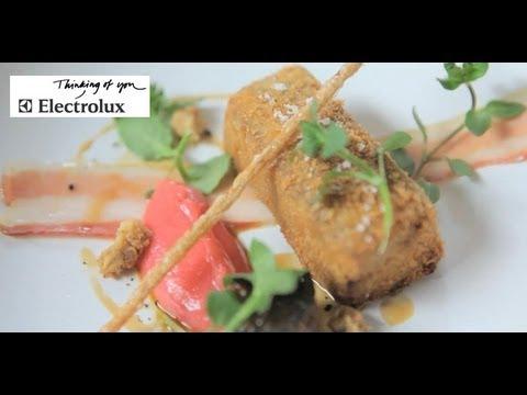 2-Michelin Star Chef Tom Kerridge: Creates A Crispy Pig Heads And Sesame Sponge Recipes