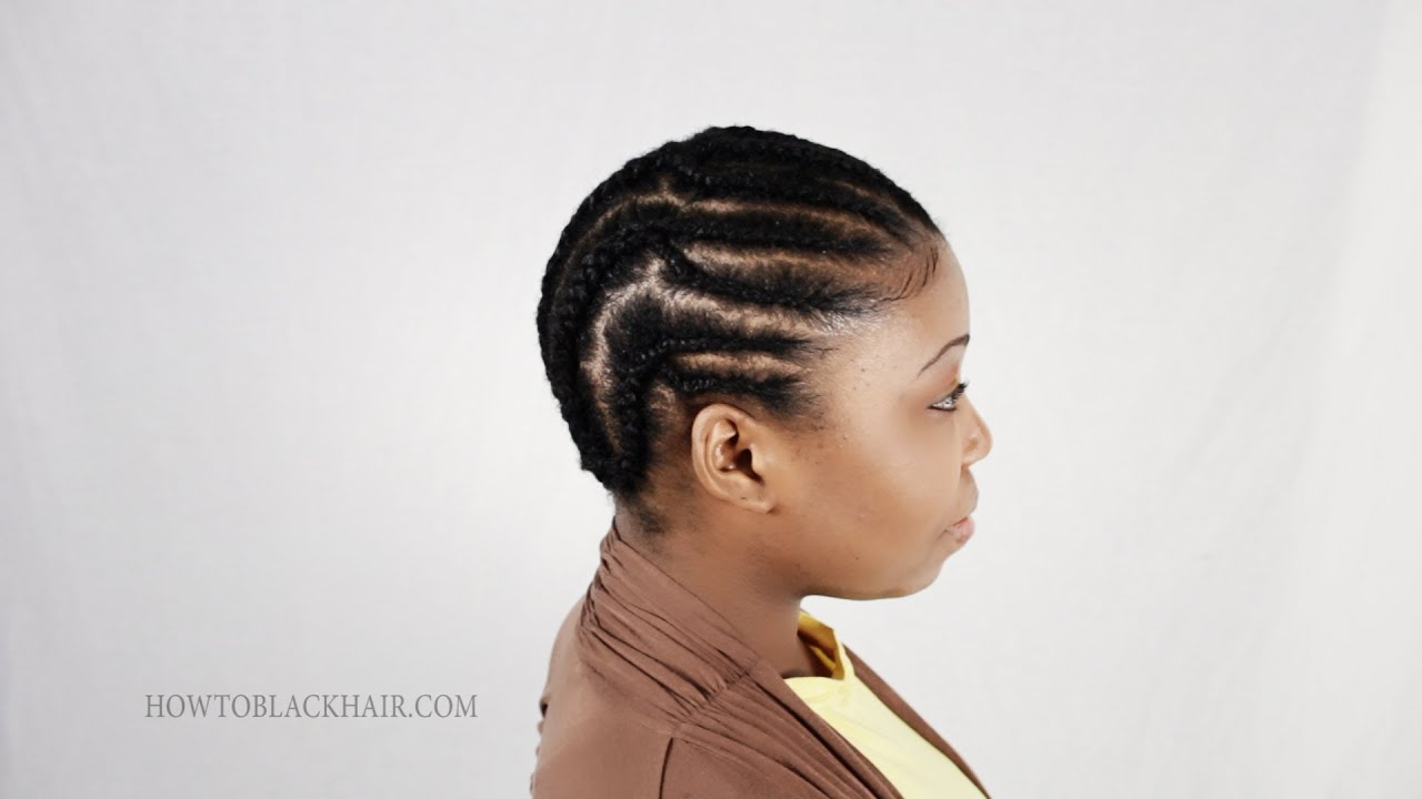 Crochet Braid Pattern For Natural Hair Styles Tutorial Part 2