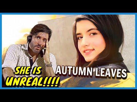 REACTION   Angelina Jordan - Autumn Leaves   BEYOND AMAZING!!!!!!