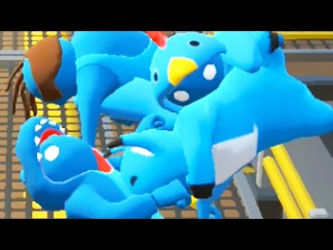 LAUGHING SO HARD | Gang Beasts Online Multiplayer | Pungence