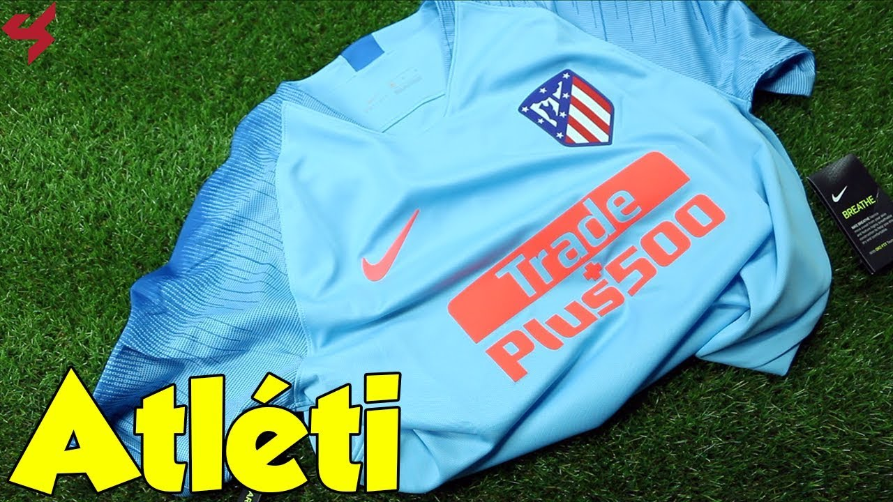 12e2b25b7 Nike Atlético Madrid 2018 19 Away Jersey Unboxing + Review from Subside  Sports