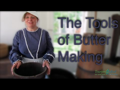 The Tools for Butter Making - Tourism Oxford