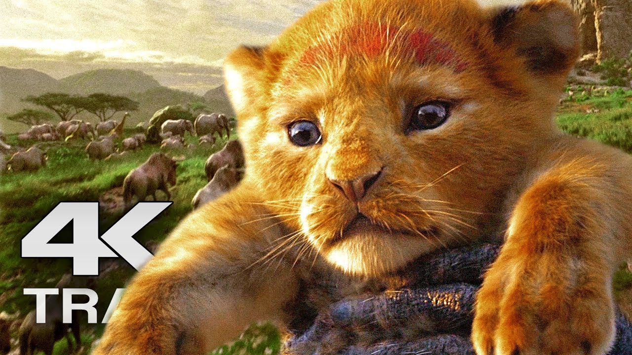 The Lion King Trailer 4k Ultra Hd 2019 Disney Live Action Movie