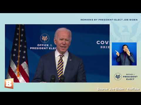 "Biden: ""President-elect Harris"" Took Covid-19 Vaccine to Instill Confidence in It"
