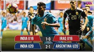 الهندي U-16, U-20 فرق كرة القدم تهيئة تاريخ   InUth