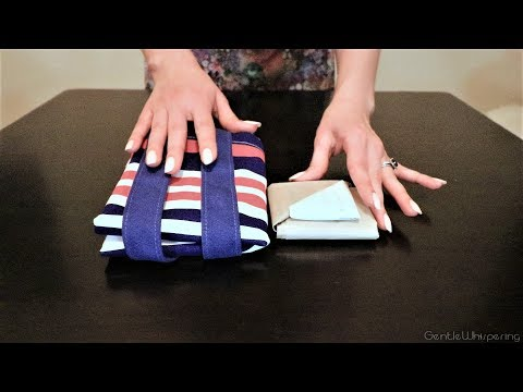 Bags Folding Tutorial 🛍 LipSmackingly Soft Spoken ASMR