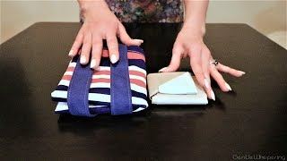Bags Folding Tutorial 🛍 LipSmackingly Soft Spoken ASMR screenshot 5