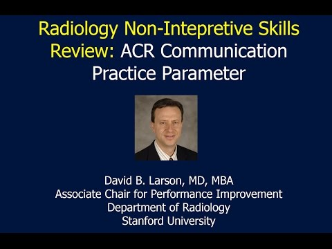 Review of ACR Communication Practice Parameter thumbnail
