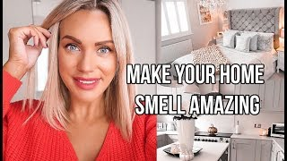 HOW I MAKE MY HOME SMELL AMAZING, THE BEST STRETCHMARK PRODUCT AND MORE!