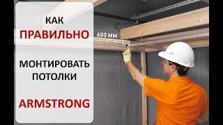 армстронг потолок как сделать
