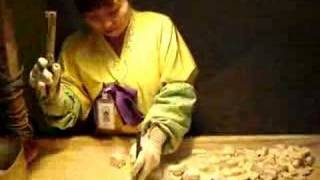 Traditional Korean Candy Cutter