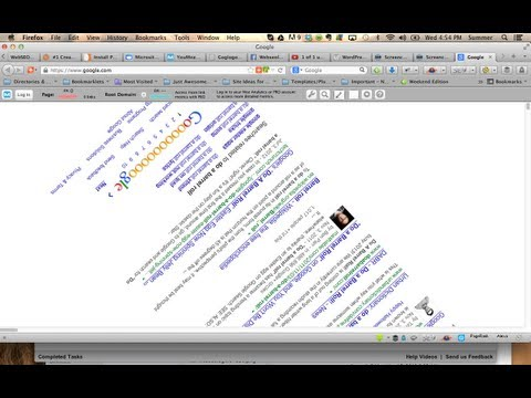 How To Do a Barrel Roll Google & Tilt. AWESOME Google Tricks!!!