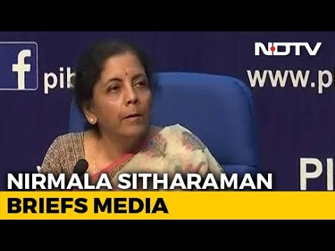 Making Path Clear For $5 Trillion Economy: Finance Minister Nirmala Sitharaman