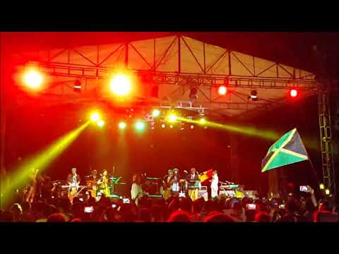 SOUL REBEL feat AFRO MOSES GHANA   Maumere Jazz Fiesta Flores 2017