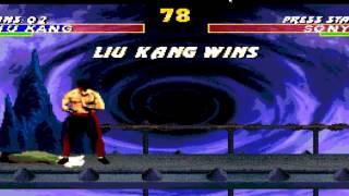 Mortal Kombat - Liu Kang Bicycle Kick Ladder Run