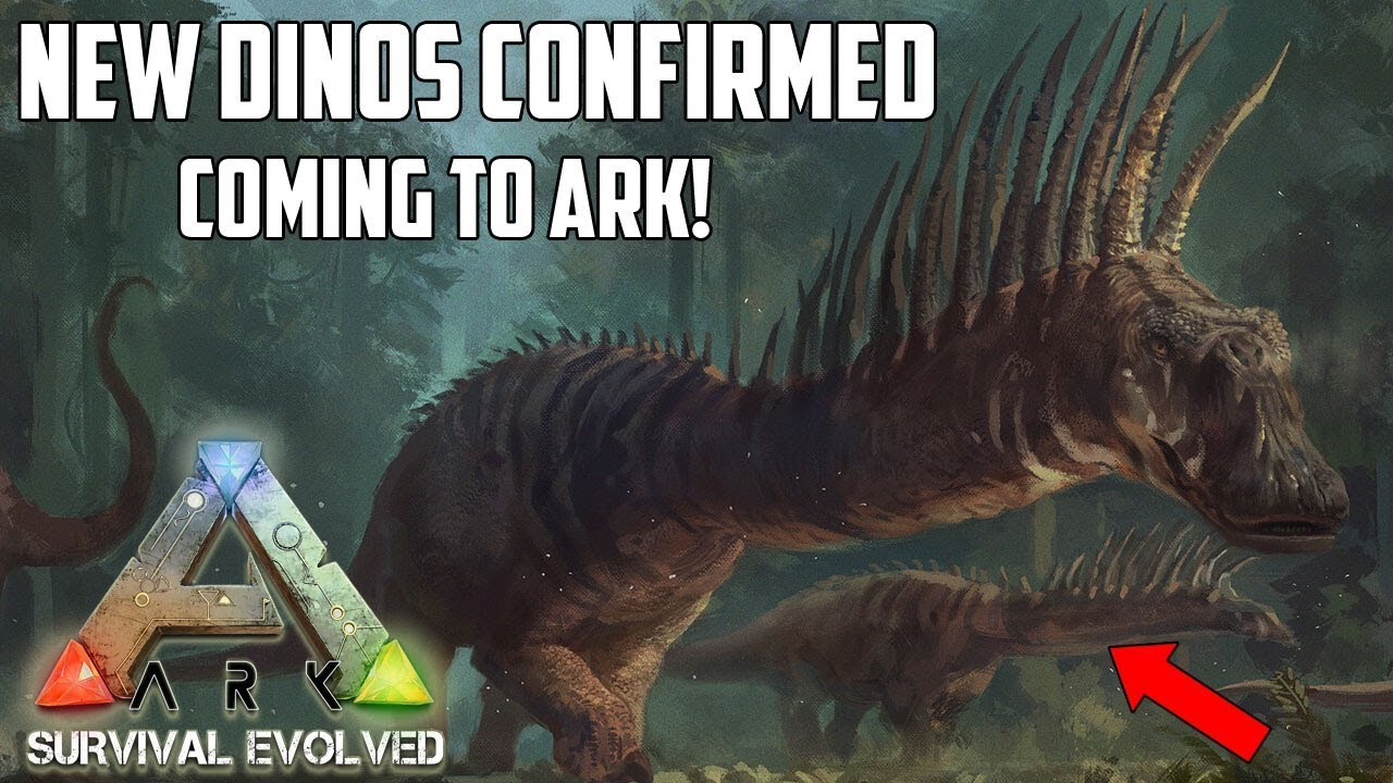BRAND NEW DINOS CONFIRMED FOR ARK! 🐉 New Updates - XBOX/PS4/PC
