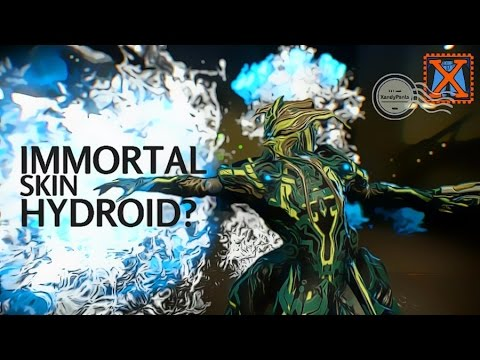 Warframe Hydroids Immortal Skin From Baro Review And Discussion