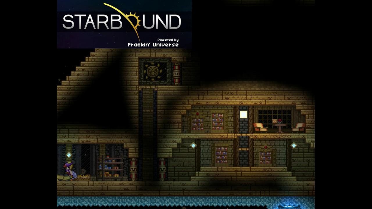 Starbound - Frackin' Universe (FU): Music - Flying Pyramid 14