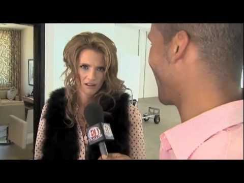 Stana Katic on ET Canada - Chatelaine cover shoot