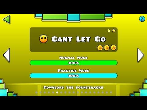 Geometry Dash - Can't Let Go 100% 3 Monedas