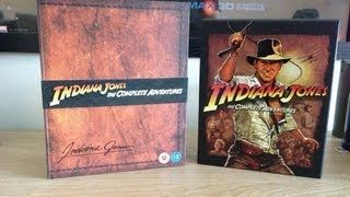 Indiana Jones Complete Collection Blu Ray Collectors Edition