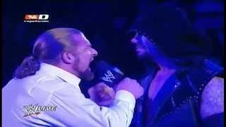 wwe raw 20 02 12 triple h acepta el reto de the undertaker audio latino parte 2