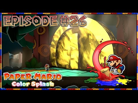 Paper Mario: Color Splash - One Coin! Entering The Inn - Episode 26