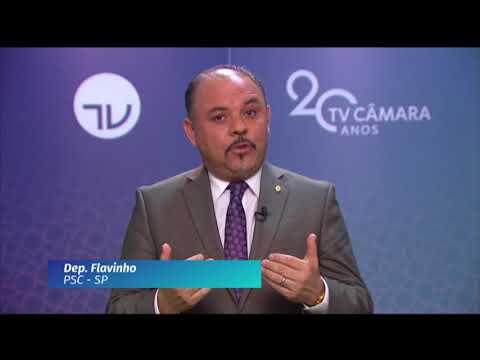 20 Anos TV Câmara: deputado Flavinho (PSC-SP)