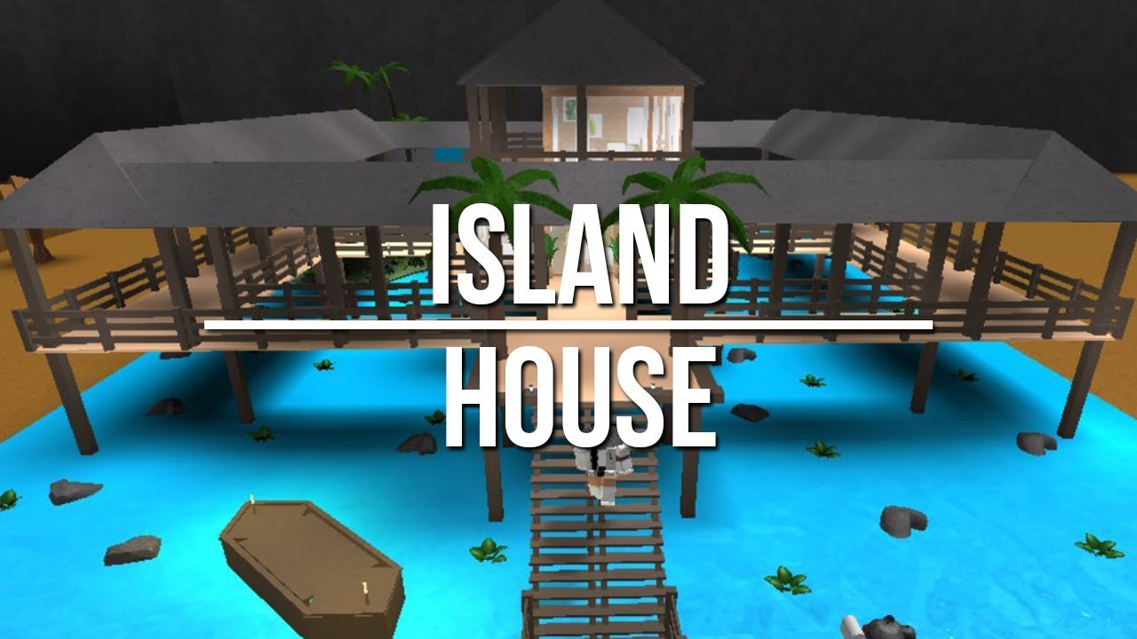 Welcome To Bloxburg: Island House 75k